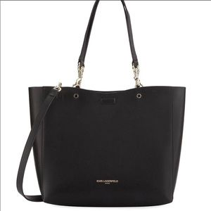 Karl Lagerfeld tote/purse, faux leather